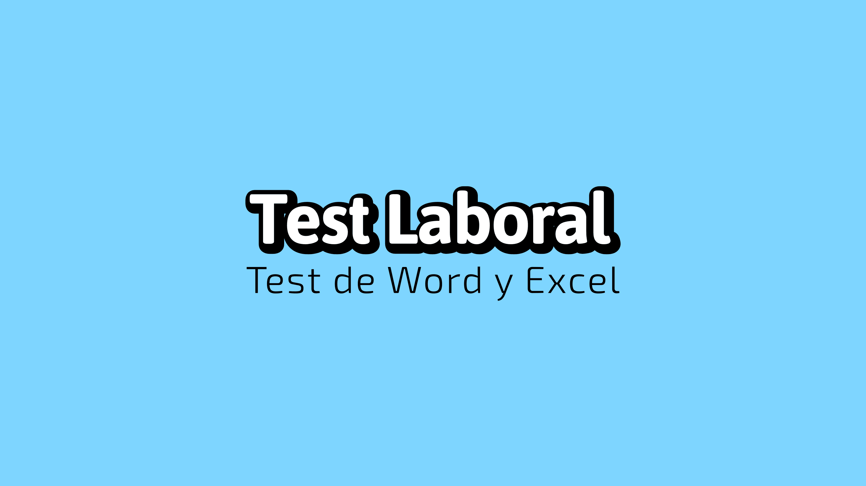 Test Laboral